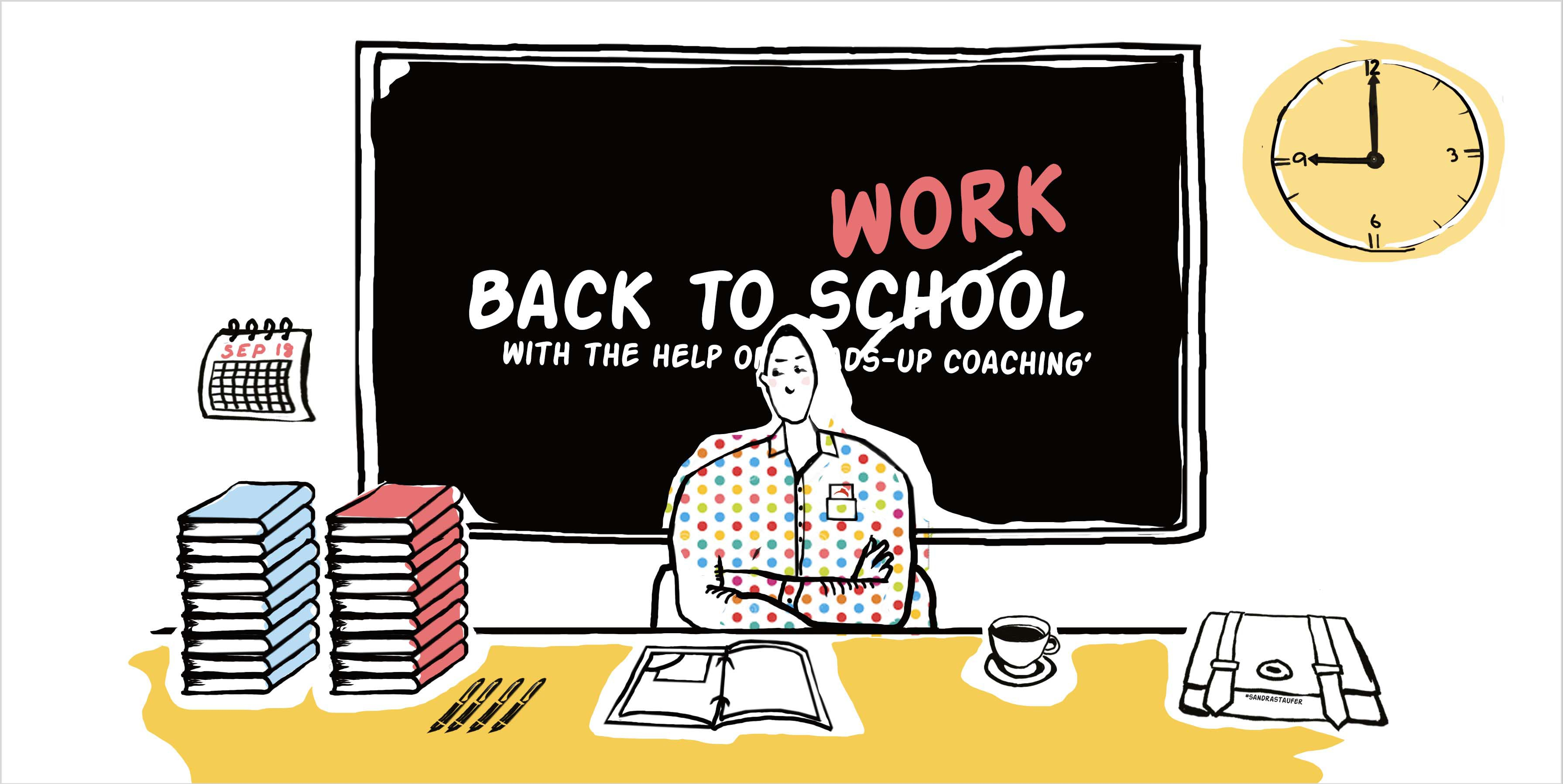 ILLUSTRATION BY SANDRA STAUFER FOR HEADS-UP COACHING