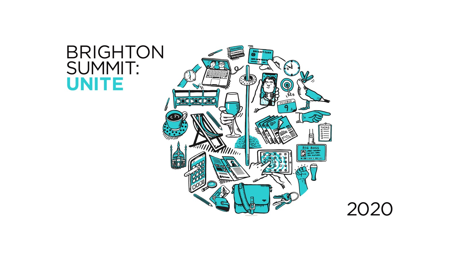 BRANDING FOR BRIGHTON CHAMBER OF COMMERCE SUMMIT 2020 SANDRASTAUFER