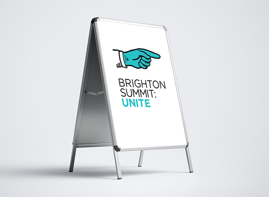 BRANDING FOR BRIGHTON CHAMBER OF COMMERCE SUMMIT 2020 SANDRASTAUFER AND VISUAL FUNCTION