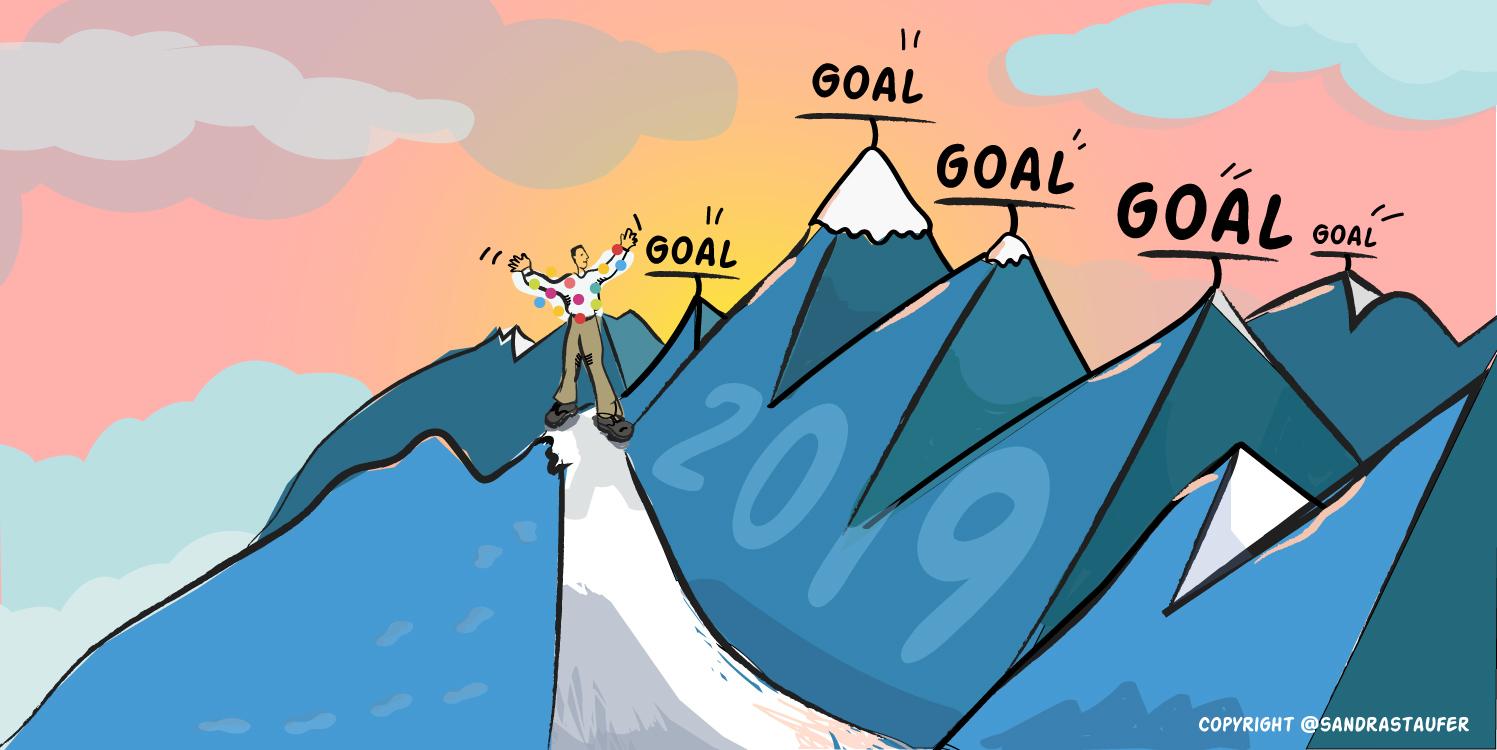 SANDRA STAUFER ILLUSTARTION FOR HEADS-UP COACHING goal setting
