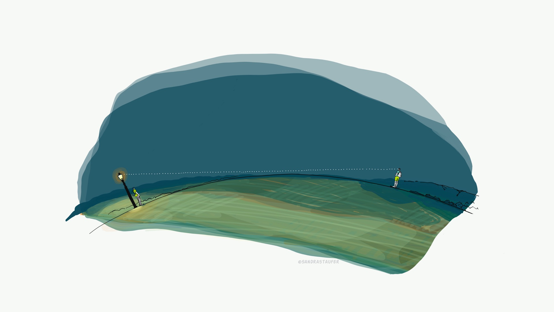 ILLUSTRATION BY SANDRA STAUFER FOR NATURAL NAVIGATOR /TRISTAN GOOLEY VODEO COURSE