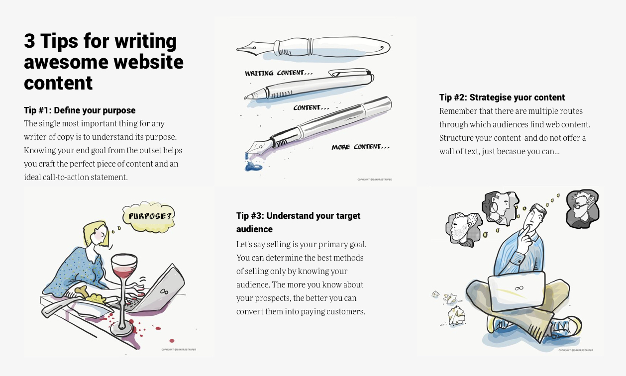 MAKE WEBSITE CONTENT MORE ACCESSIBLE WITH AN ILLUSTRATION SANDRA STAUFER BRIGHTON